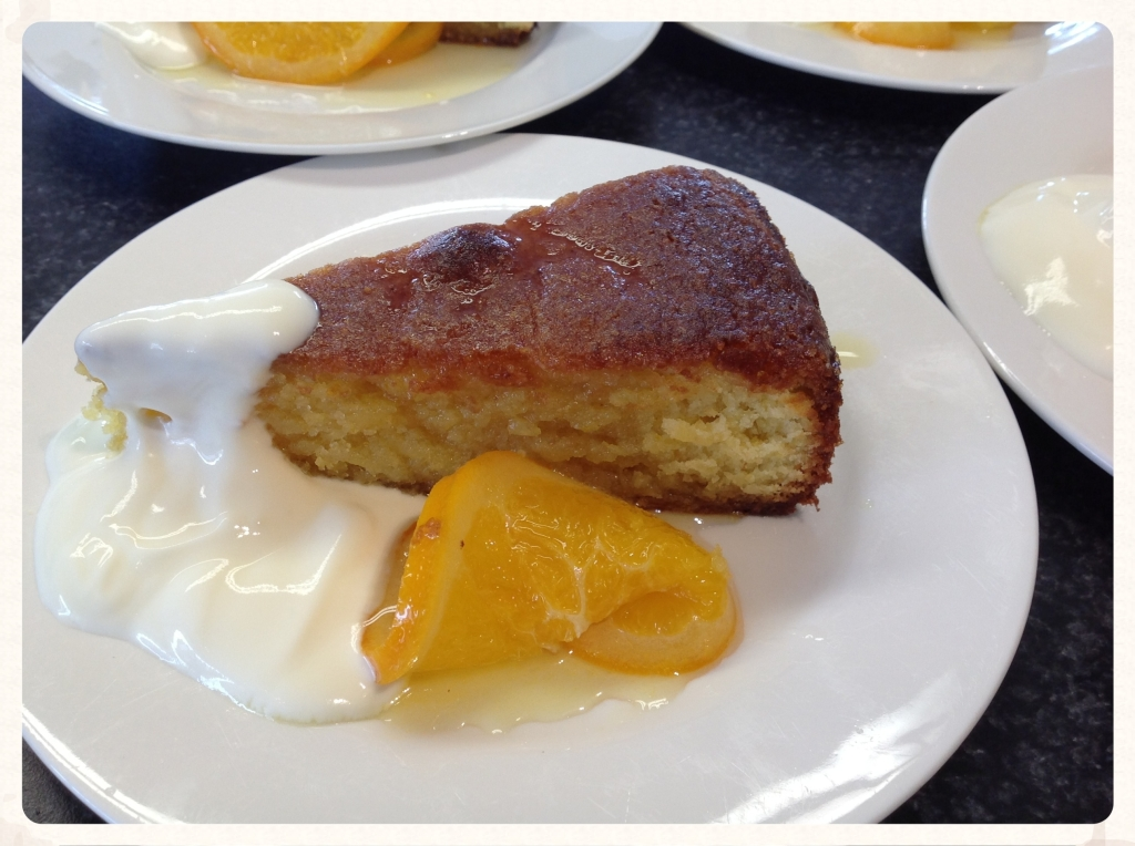 Orange And Almond Syrup Cake With Candied Oranges The