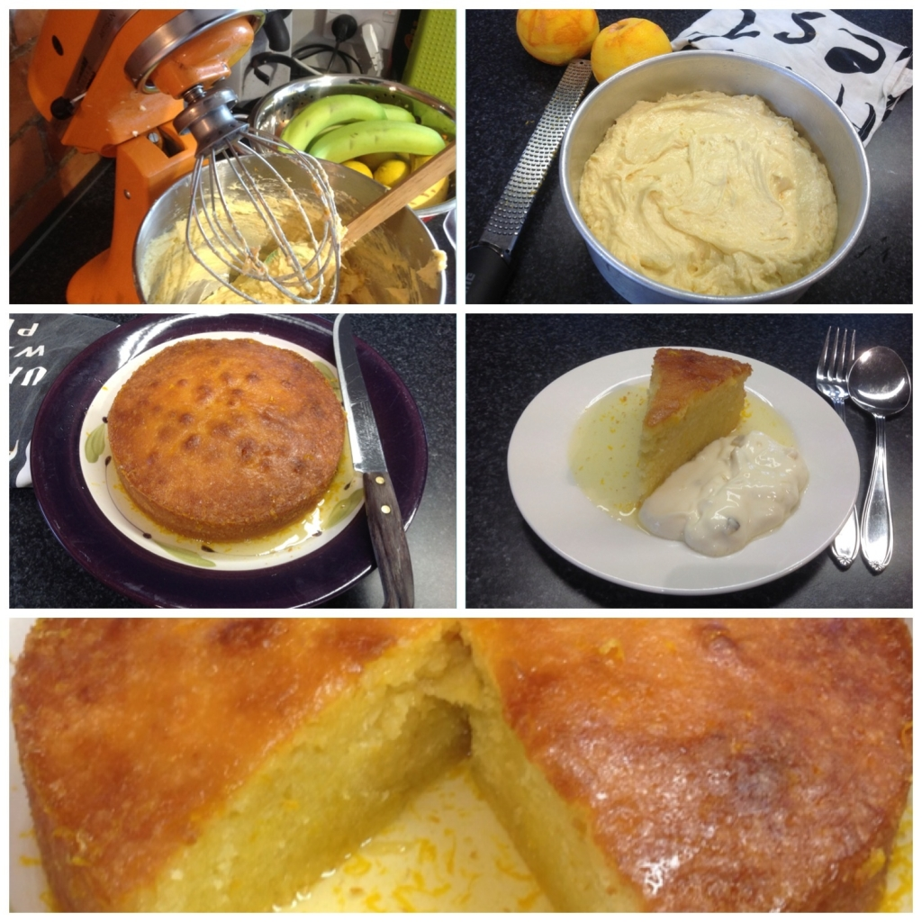 orange syrup pound cake