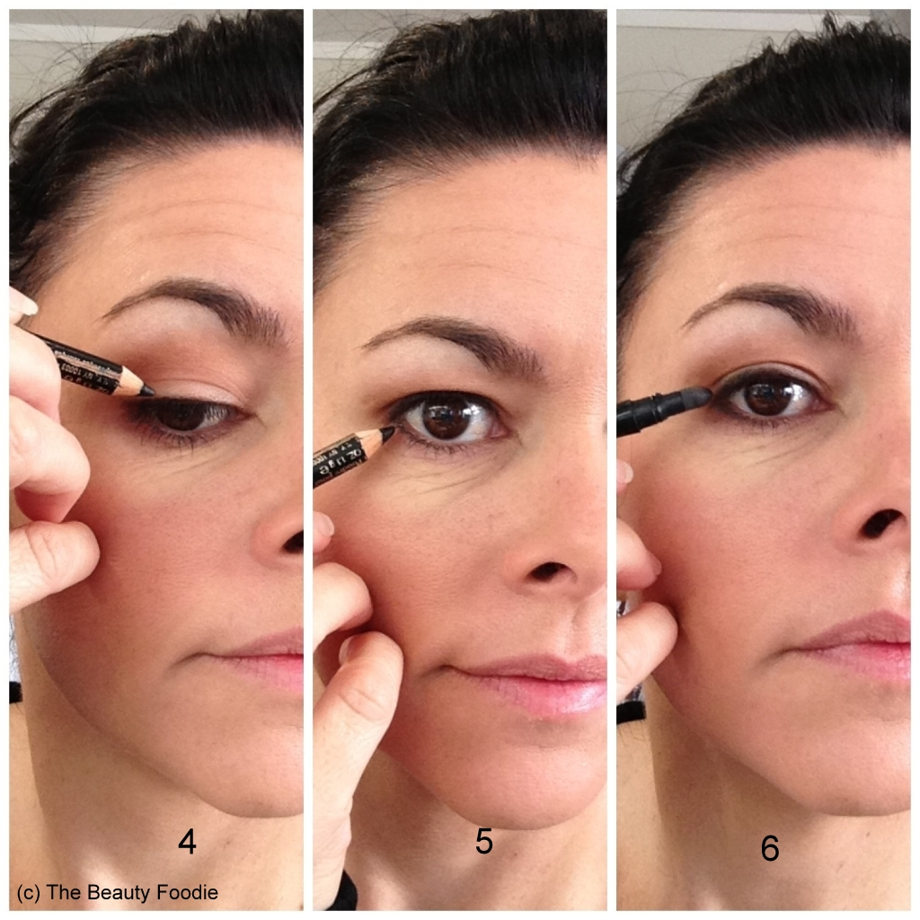 How to apply eye makeup on sagging eyelids