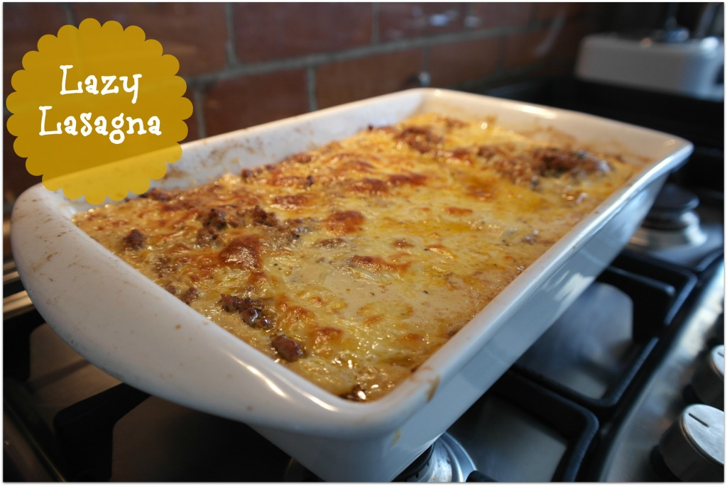 Lazy Lasagna Alison Holst