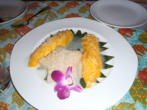 Mango Sticky Rice (heaven on a plate)