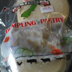 Asian dumpling wrappers