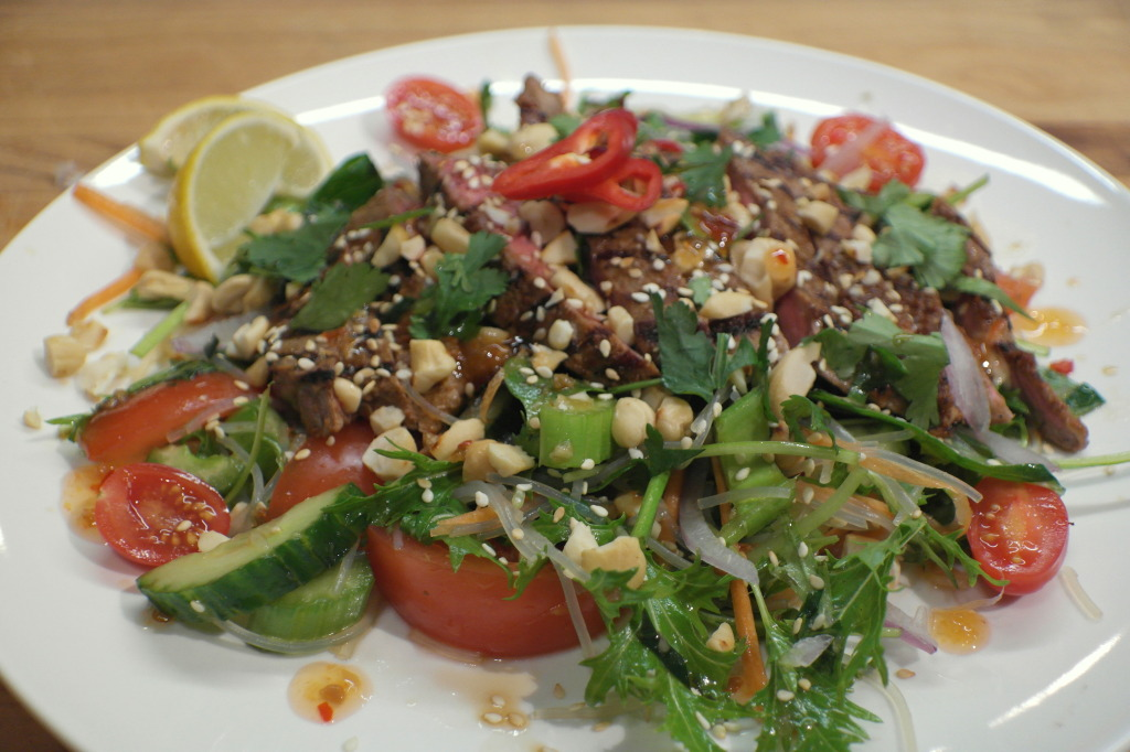 Thai Beef Salad Recipe - The Beauty Foodie