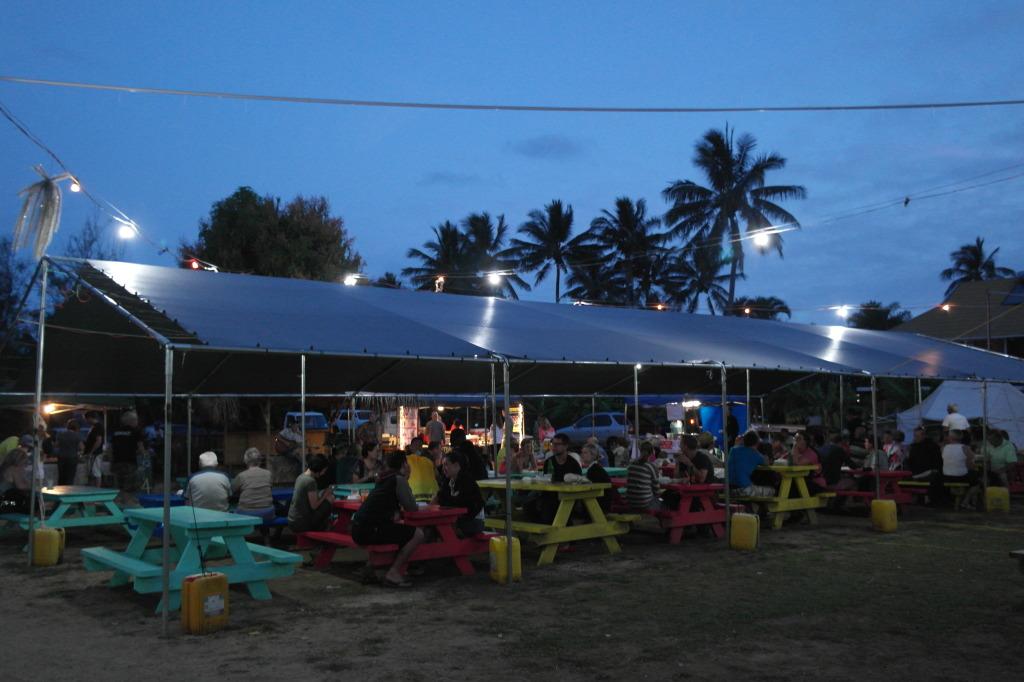 Muri Night Market Rarotonga