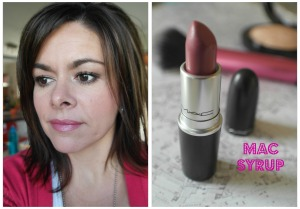 mac syrup lipstick review