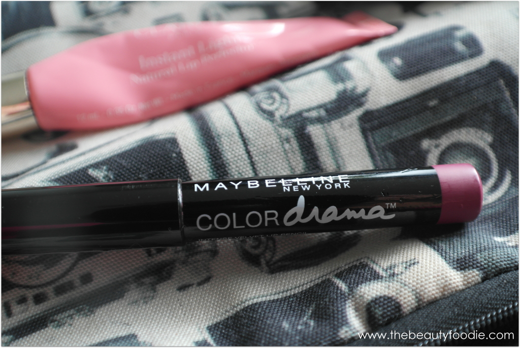 Maybelline colour drama lip crayon review
