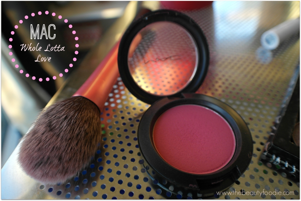 mac whole lotta love blush review