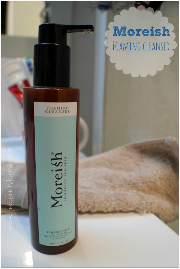moreish foaming cleanser review