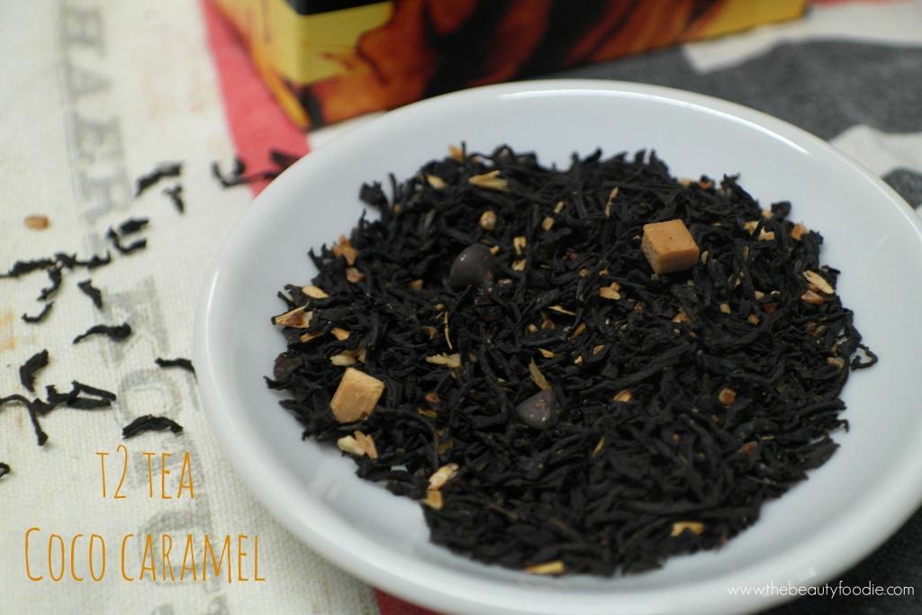 T2 tea coco caramel