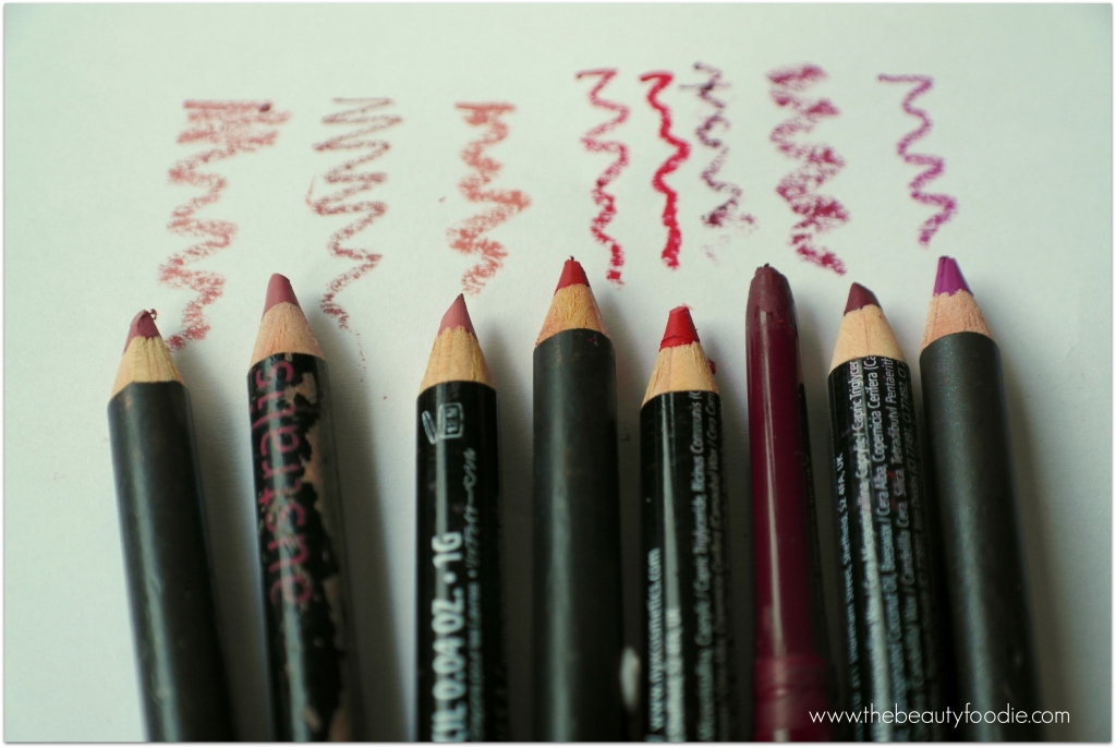lip liner colour must haves