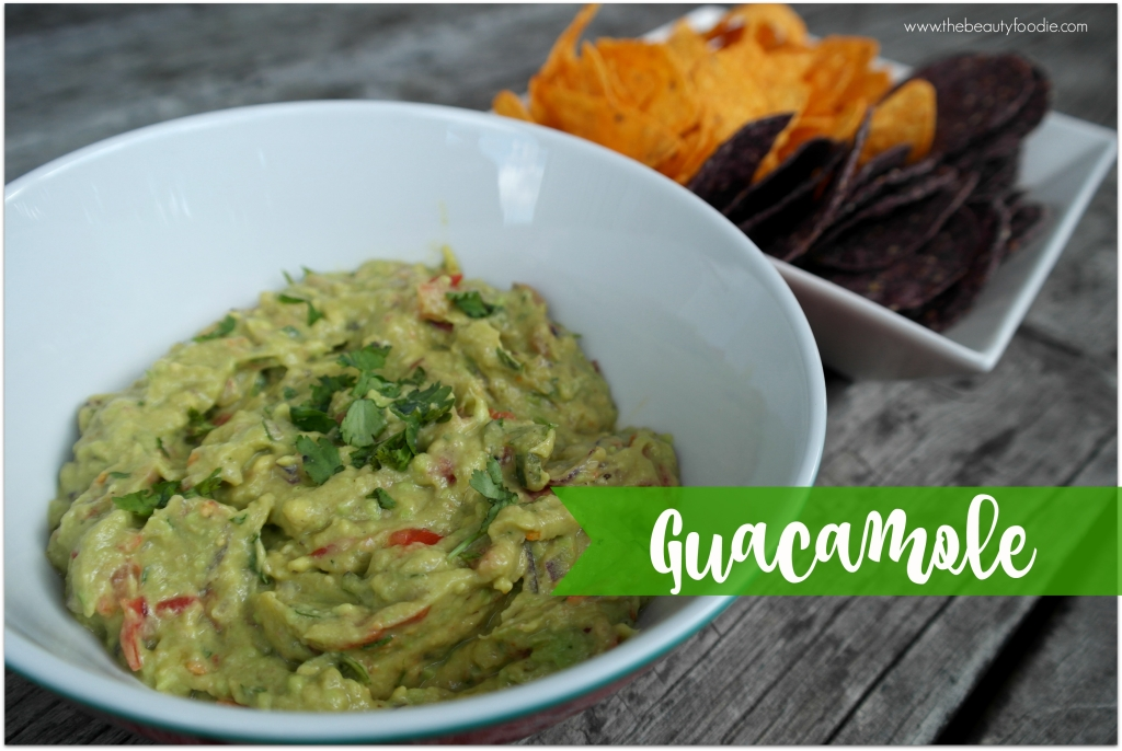 Best Ever Chunky Guacamole Recipe The Beauty Foodie
