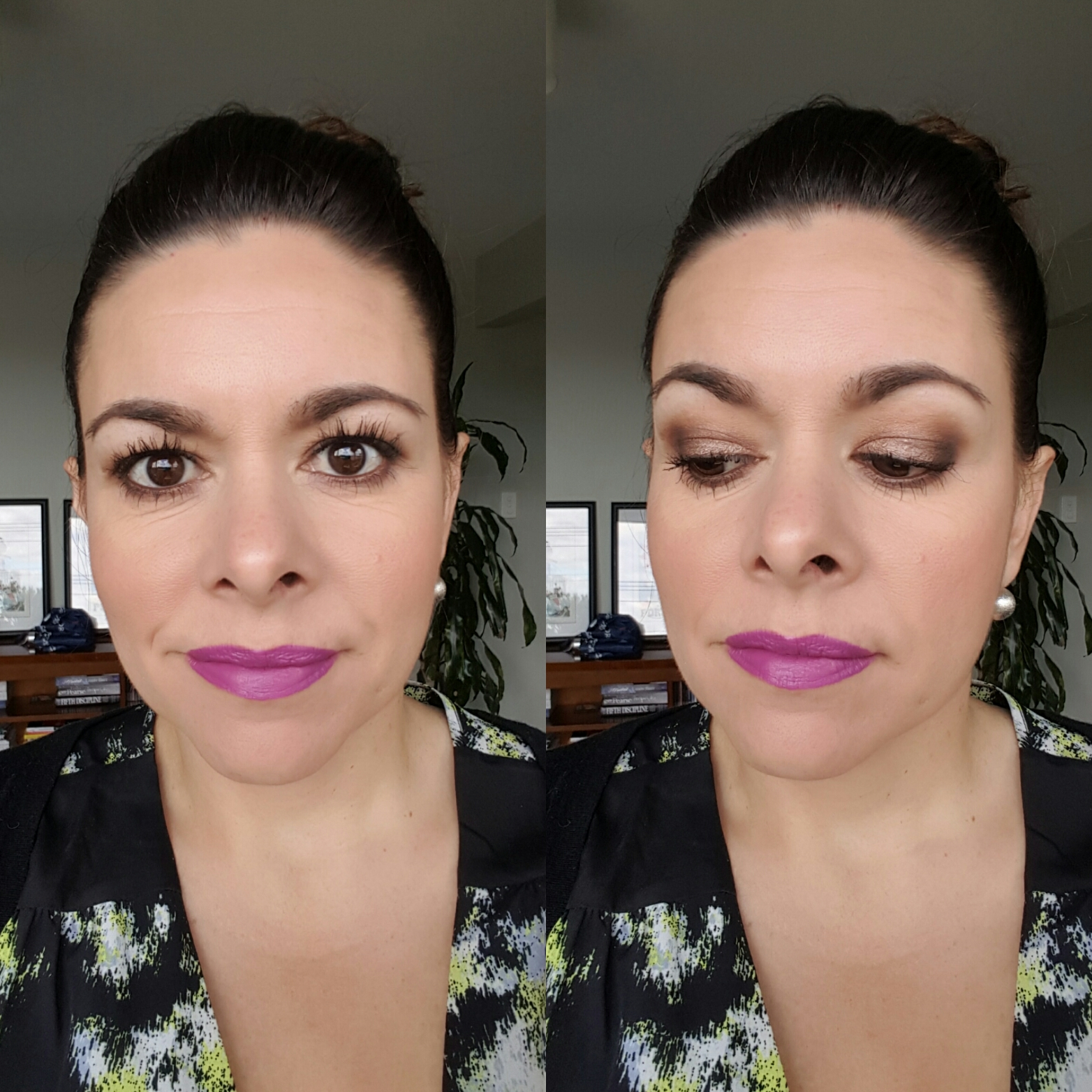 39f7525727c Maybelline Lash Sensational (and if you are wondering on my lips is a mix of