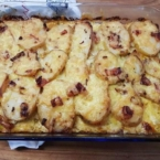 potato and bacon bake