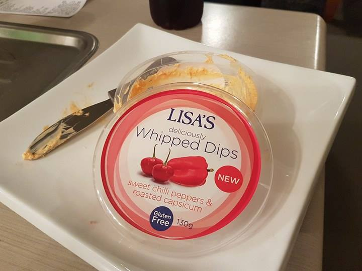 Lisa's whipped dips