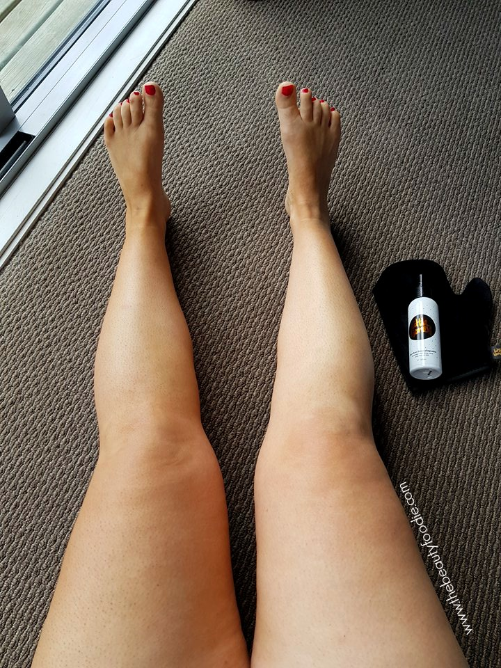 Little honey self tan review
