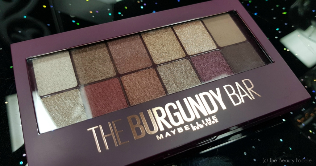 Maybelline the burgundy bar review